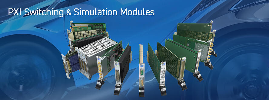 PXI Switching and Simulation Modules from Pickering